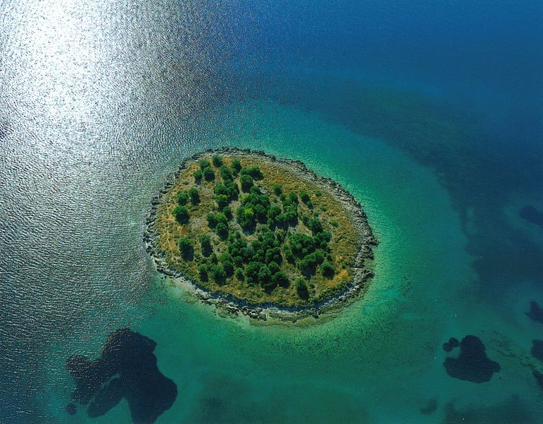 Ostrov St. Athanasios - Řecko