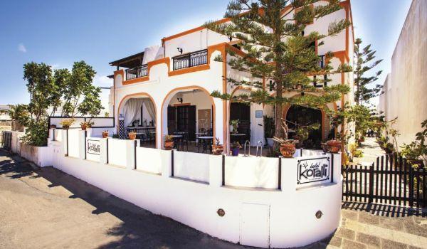 3 Hotel A Apartmany Koralli Santorini