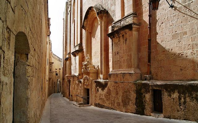 Historické místo - Malta